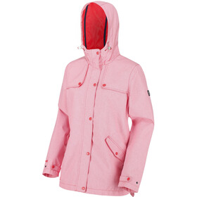 Regatta Bertille Veste Shell Imperméable Femme, red sky